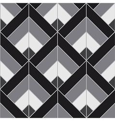 Bohemian Black White Pattern Background vector image vector image