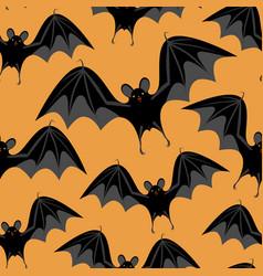 halloween bats vector image vector image