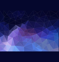 background of geometric shapes flat retro vector image vector image