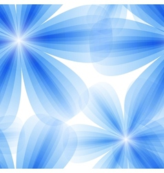 blue floral seamless background vector image vector image
