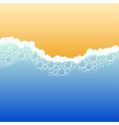 Coastline vector image