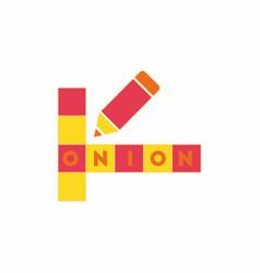Crossword education game for children vector