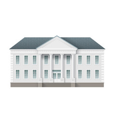 Administrative governmentalbuilding vector