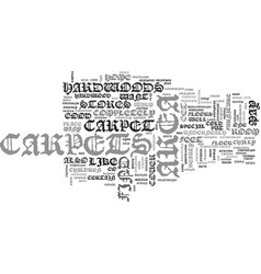 Area carpets text word cloud concept vector