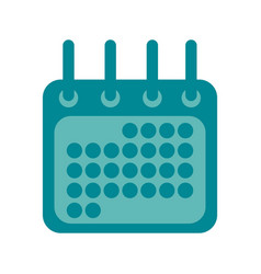 calendar date event vector image