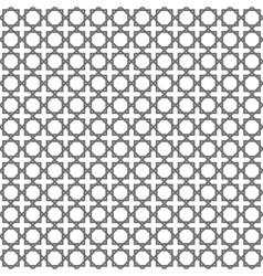 Geometric arabic islamic seamless pattern vector image