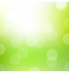 Green Bokeh Background vector
