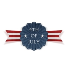 Independence Day 4th of July festive Banner vector image