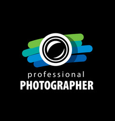 logo for photographer vector image