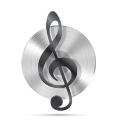 lp record icon gramophone music object vector image