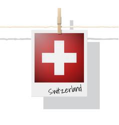 Photo of switzerland flag vector