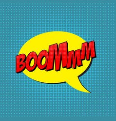 retro pop art comic shout seamless pattern vector image