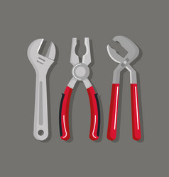 Set building construction and home repair tools vector