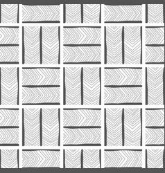 abstract background seamless pattern black and vector image