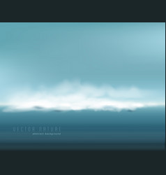 Abstract background with restless seascape vector