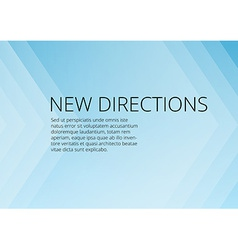 Abstract blue arrows background with copyspace vector image vector image
