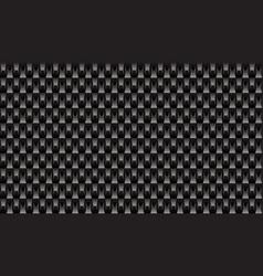 Black brick plastic texture repeat carbon block vector