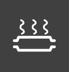 catalyst overheating icon vector image