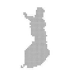 pixel map of finland dotted map of finland vector image