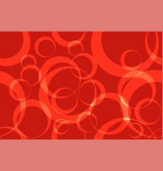 red circle ring abstract background seamless vector image vector image