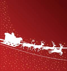 Santa Claus wallpaper vector image