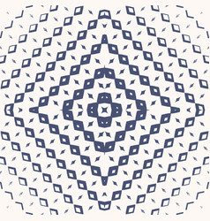 Seamless rhombuses lines ornament ethnic pattern vector