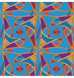 Seamlessbeautiful decorative royal pattern vector image