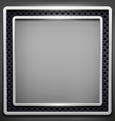 Square frame Stock vector image