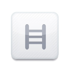 White ladder icon Eps10 Easy to edit vector