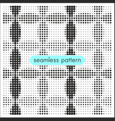 Seamless patterns with halftone dots 13 vector