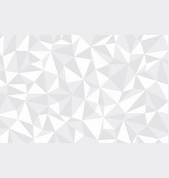 abstract polygonal pattern on background vector image