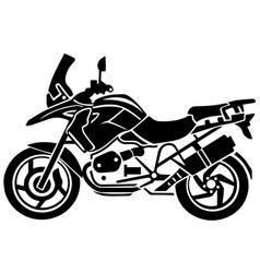 Adventure moto climbing background eps 10 vector