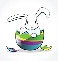 Rabbit easter 3 vector