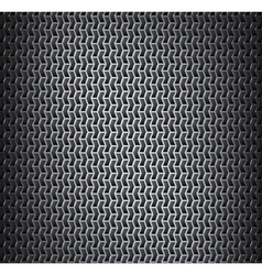 Background with metal grid vector image