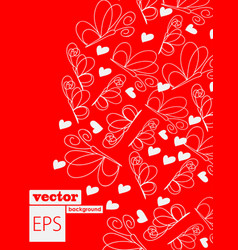 Abstract butterfly background - eps10 vector