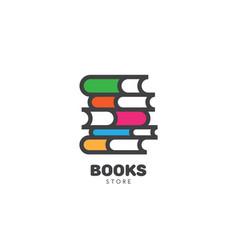 Book store logo vector