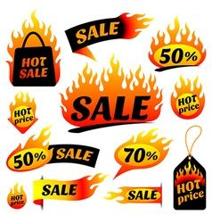 Fire sale vector