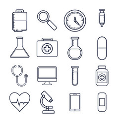 medical equipment design vector image