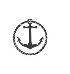 Nautical logo icon vector