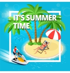 Summer Time Summer vacation summer vector