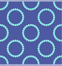 pearl necklake natural bjoutetie background vector image