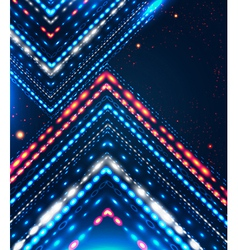 Abstract design with shiny arrows for Your vector image