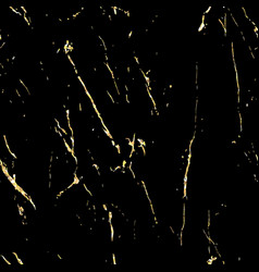 black marble with gold flecks vector image
