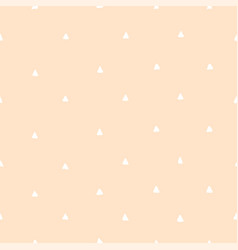 cute seamless yellow pattern with white dots vector image