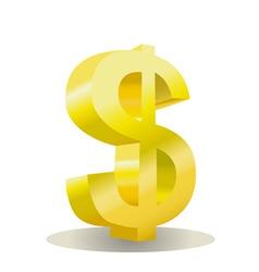 Dollar design vector