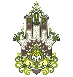 Hamsa symbol vector image