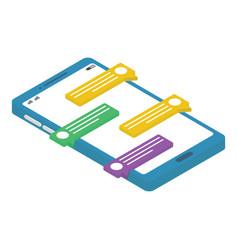Mobile messaging vector
