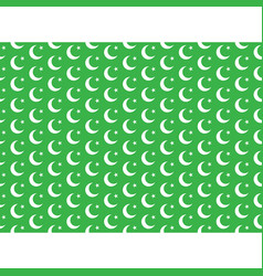 Moon and star seamless pattern vector