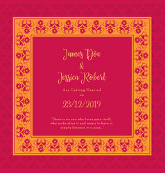 Royal Engagement Ceremony Invitation Card Vector Images 53