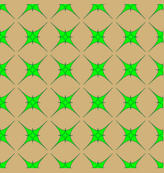 star geometric seamless pattern 8408 vector image